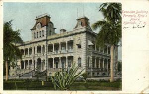 hawaii, HONOLULU, Executive Building, Formerly King's Palace (1905)
