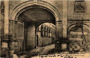 CPA VARENGEVILLE-sur-MER Porte d'Entrée du Manoir d'Ango (348188)
