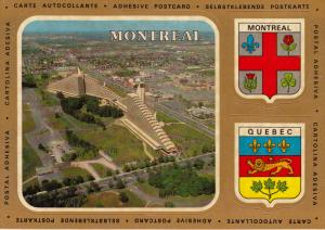 Three Adhesive views of MONTREAL, Quebec, Canada, 50-70s