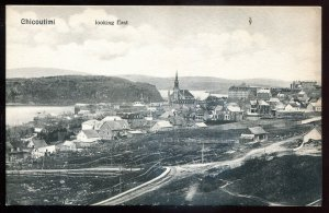 dc1113 - CHICOUTIMI Quebec Postcard 1900s Panoramic View