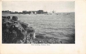Nanhant Massachusetts Boat Landing Antique Postcard (J33013)