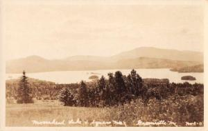 Greenville Maine Moosehead Lake Real Photo Antique Postcard J72697