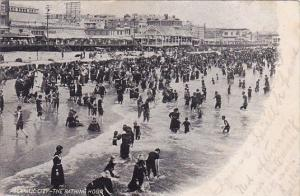 New Jersey Atlantic City The Bathing Hour 1904