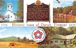 Dorset Vermont~Green Mountain State~1960 Postcard