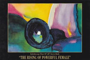 The Rising Of Powerful Female by Female Artists Zhee Clay Arts Studio Vancouv...