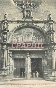 Postcard Old Toulouse Portal of the Church of N D Dalbade Children