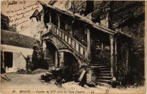 CPA MEAUX - Escalier du XVI siecle du Vieux Chapitre (436386)