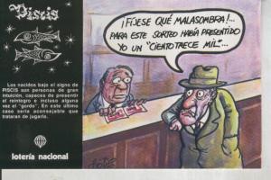 Postal 011036: Loteria Nacional-Signos Zodiaco: Piscis