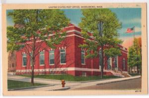 Post Office, Middleboro MA