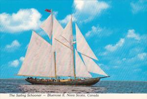 Sailing Schooner Bluenose II Nova Scotia Canada
