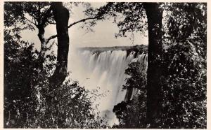 Zambia A view of the Eastern Cataract, Victoria Falls, Livingstone Island