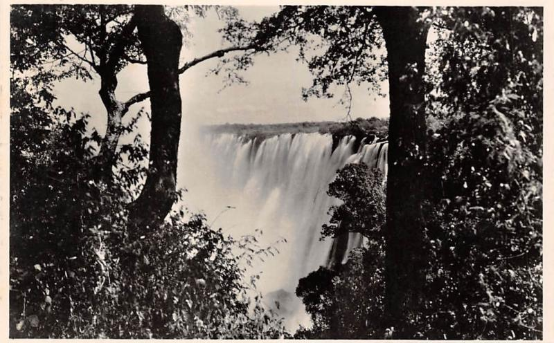 Zambia A view of the Eastern Cataract, Victoria Falls, Livingstone Island