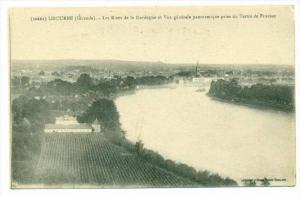 LIBOURNE (Gironde), France, 00-10s   Les Rives de la Dordogne et Vue generale...