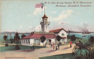 U S Life Saving Station U S Government Buildings Jamestown Exposition sku94