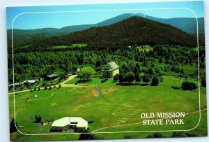 *Old Mission State Park Cataldo Idaho Father Ravalli 4x6 Postcard B61