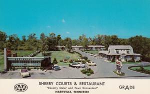 NASHVILLE , Tennessee, 40-60s; Sherry Cpurts & Restaurant