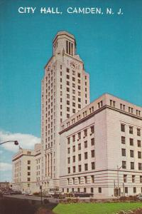 City Hall Building, Market and Federal Streets, Camden, New Jersey, 40-60´s