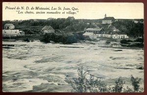 dc1269- LAC ST. JEAN Quebec Postcard 1920s Prieure de N.D. de Mistassini