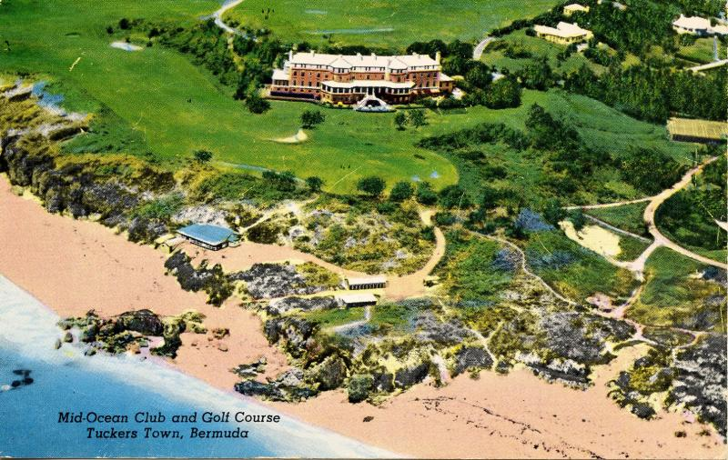 Bermuda - Tuckers Town. Mid-Ocean Club and Golf Course