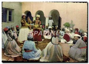 Postcard Modern & # 39Afrique Colored Dances Of Ouled Nail Tunisia