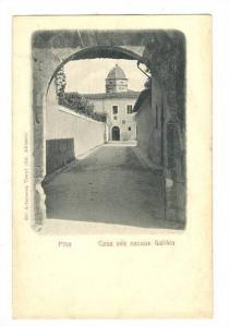 PISA, Italy, Casa ove nacque Galileo, 1890s