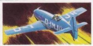 Lyons Tea Vintage Trade Card Wings Of Speed 1961 No 12 Messerschmitt 209 Germany