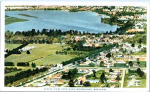 BALLARAT, Victoria  Australia   Aerial View LAKE WENDOUREE   Postcard