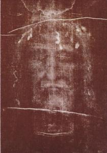 The Sindone - Jesus face on a photographic negative , PU-1986 : Torino Italy