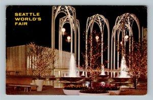 Seattle WA, Science Pavilion, World's Fair Washington Chrome c1962 Postcard