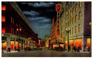 Washington Seattle    Fifth Avenue