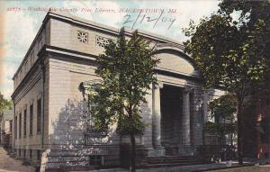 HAGERSTOWN , Maryland, PU-1909 ; Library