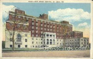 New Jewish Hospital St. Louis, MO, USA Postcard Post Cards Old Vintage Antiqu...