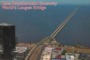 Louisiana New Orleans Lake Pontchartrain Causeway World's Longest Bridge