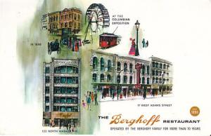 Chicago - The Berghoff Restaurant   1972 Used
