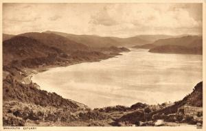 Vintage Postcard BARMOUTH Estuary, North Wales 12V