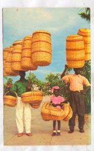 Basket Sellers,Haiti, 40-60s