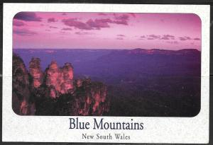 Australia NSW Blue Mountains (4-1/2x6-1/2 PC) unused
