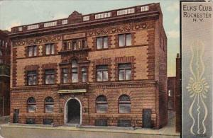 New York Rochester The Elks' Club 1913