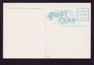 P1584 vintage unused postcard cotton yard, cotton ready for shipment