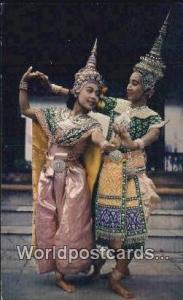 Bangkok Thailand Siamese Court Dancers  Siamese Court Dancers