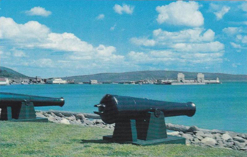 Cannon , Waterfront , DIGBY , Nova Scotia , Canada , 50-60s