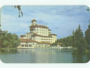 Unused Pre-1980 BROADMOOR HOTEL Colorado Springs Colorado CO hr5833