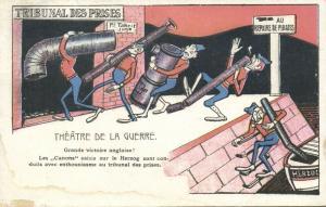 BOER WAR, Caricature, Great Victory! British seized German Steamer Herzog (1900)