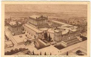 Reconstruction des temple de Jupiter-Helios BAALBEK (Syrie), 00-10s