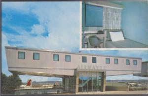 ARLINGTON VA - VIEW of the AIRWAYTE at Washington National Airport, 1960s - GONE