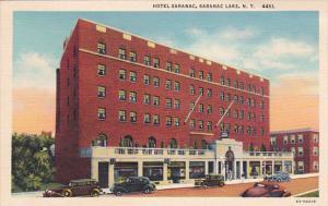 New York Saranac Lake Hotel Saranac Curteich