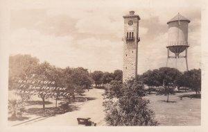 RP: San Antonio , Texas , 1910s ; Watch Tower , Ft Sam Houston