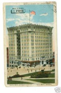 1917 Frye Building Seattle WA postcard cover