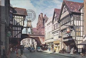 England Chester Looking Up Eastgate Street 1970