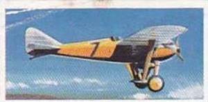 Lyons Tea Vintage Trade Card Wings Of Speed 1961 No 6 Nieuport Delage Sesquip...